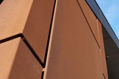 Exterior Metal Cladding Geelong | Corten Steel | Aluminium