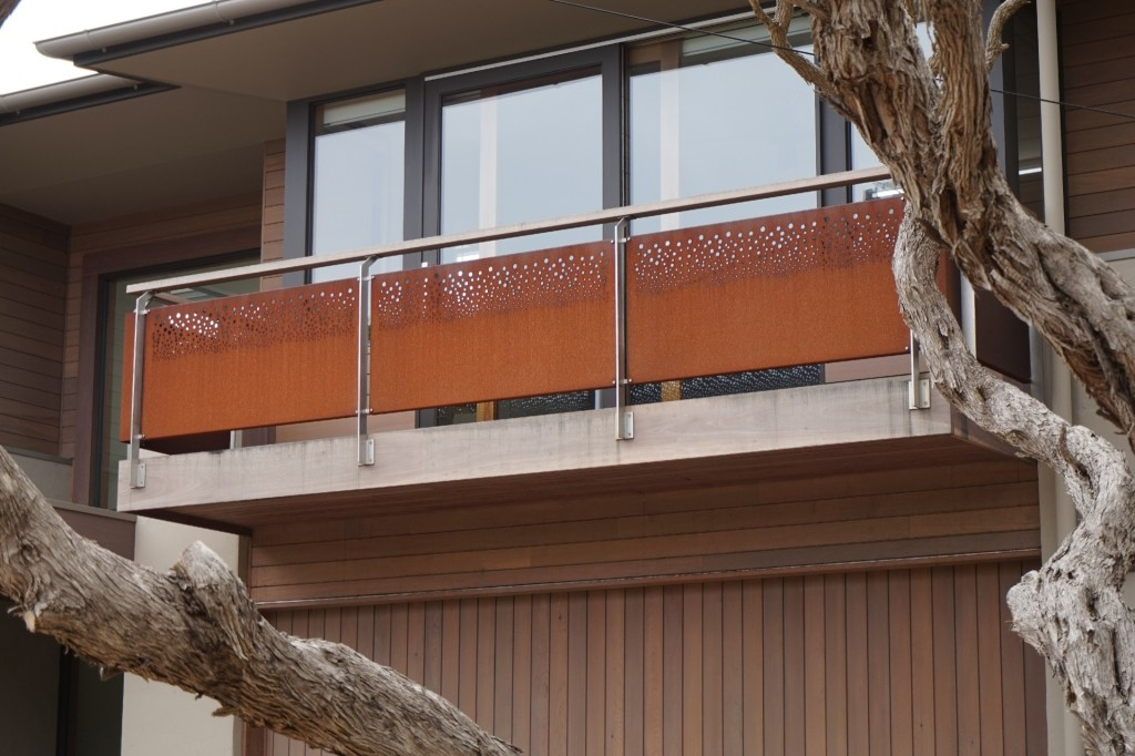 Laser Cut Metal Balustrade Screens Geelong Aluminium